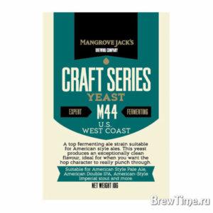 Дрожжи элевые Mangrove Jack's M44 US West Coast